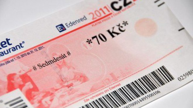Od papíru kelektronické platební kartě. Stravenkám je 70 let - anotační foto