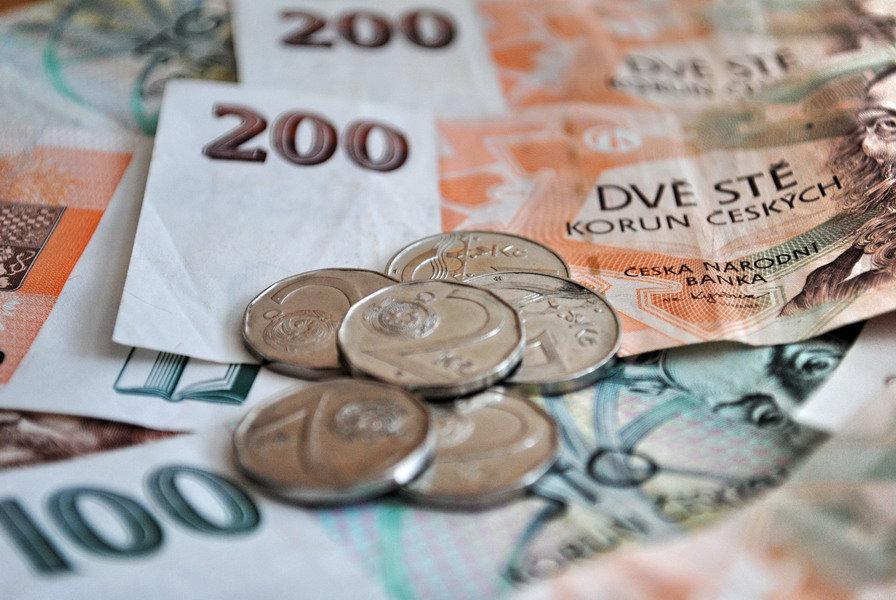 Vývoj průměrné mzdy v Česku