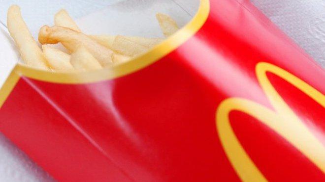 McDonald's zavádí hranolky s čokoládou - anotační foto