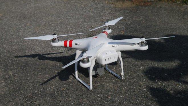 Dron, ilustrační fotografie