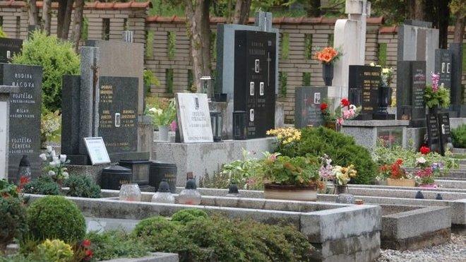 Hřbitov, ilustrační fotografie