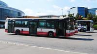 Autobusy, ilustrační fotografie