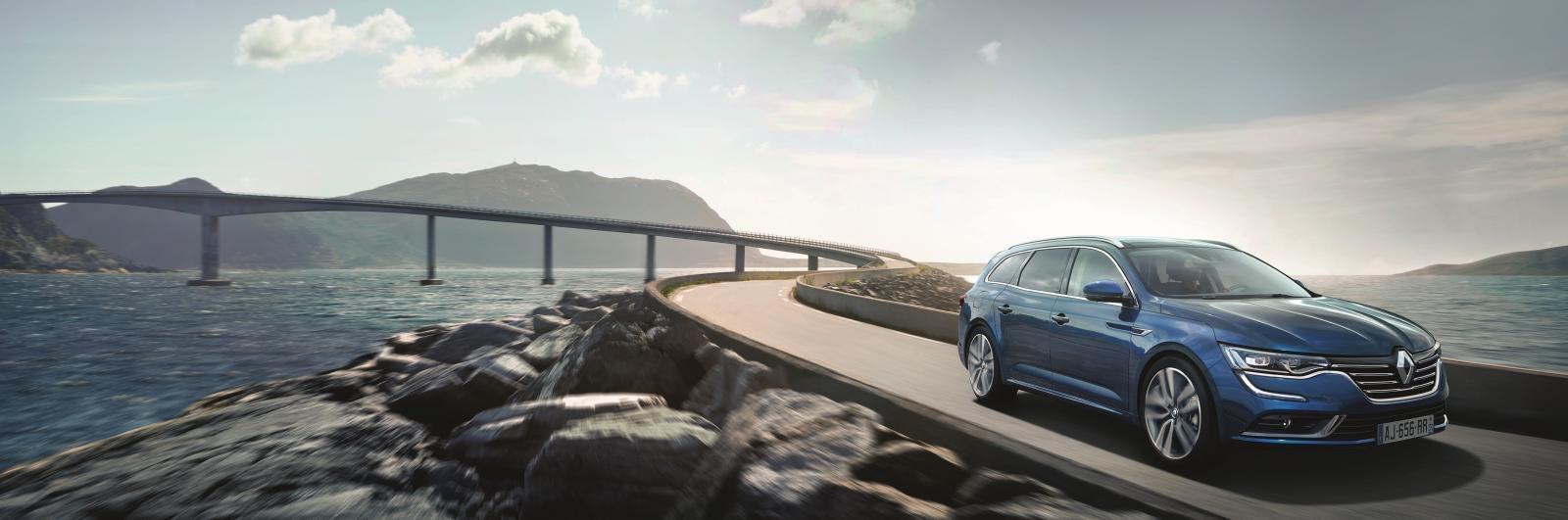 VIDEO: Renault Talisman Grandtour, nové kombi poprvé na českých silnicích - anotační obrázek