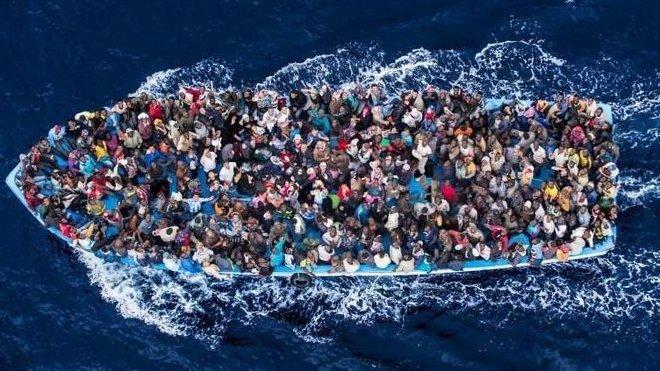 6 milionů uprchlíků je připraveno proniknout do zemí EU, píše se v utajené německé zprávě - anotační obrázek