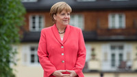 Merkelová bez obalu: Pomáhat uprchlíkům je naším úkolem - anotační obrázek