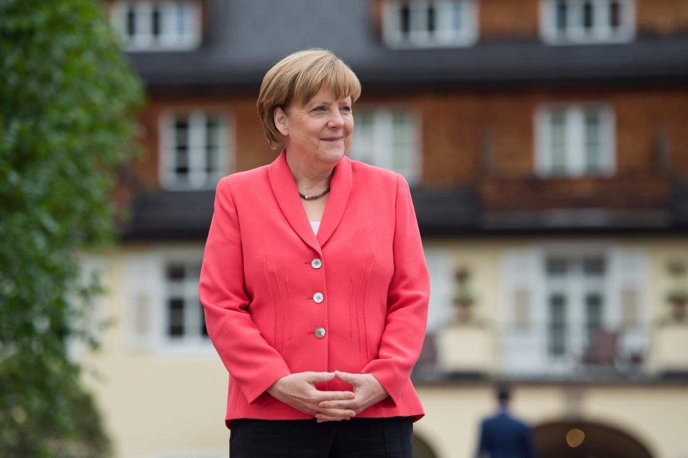 Merkelová: Pomáhat uprchlíkům je naším úkolem - anotační foto