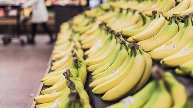 Banány, ilustrační fotografie