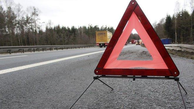 Dopravní nehoda, ilustrační fotografie