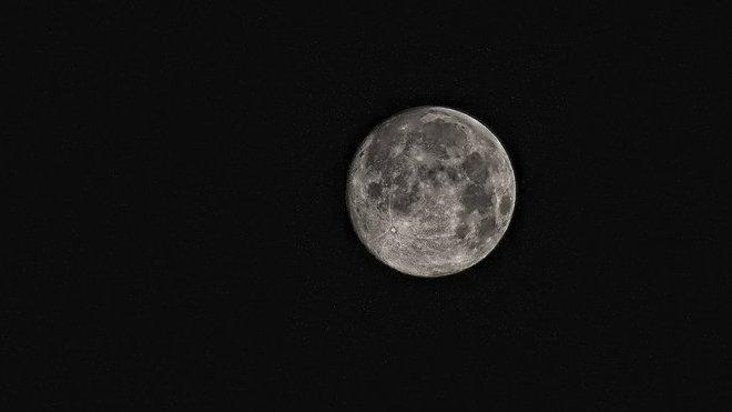 Měsíc, ilustrační fotografie