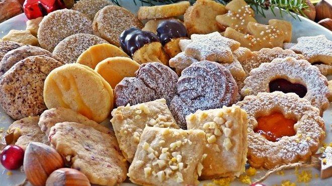 Vánoční cukroví, ilustrační fotografie