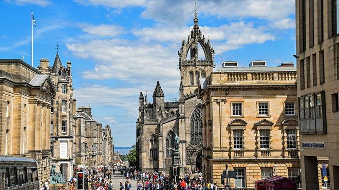 Edinburgh, Skotsko