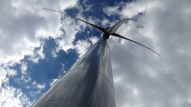 Větrná elektrárna, ilustrační fotografie
