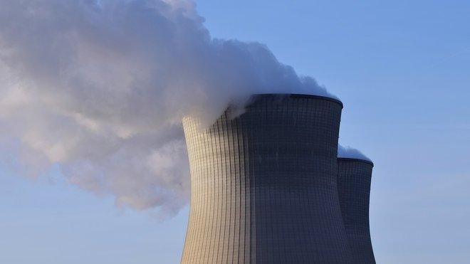 Jaderná elektrárna, ilustrační fotografie
