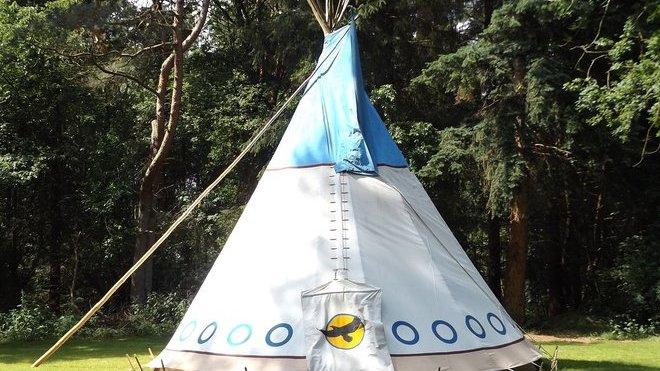 Dětský tábor, ilustrační fotografie