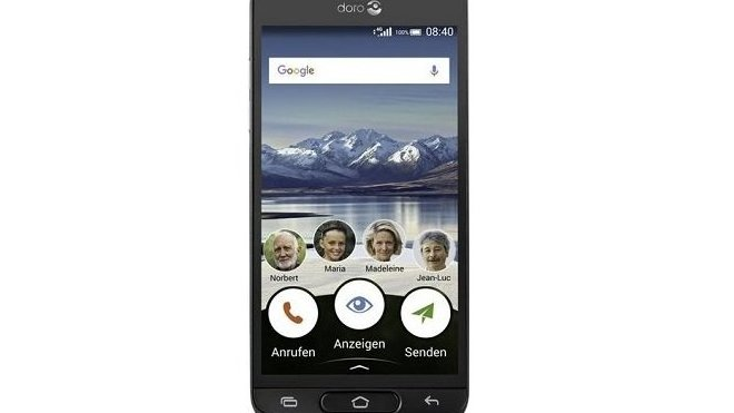 Mobil pro seniory Doro 8040