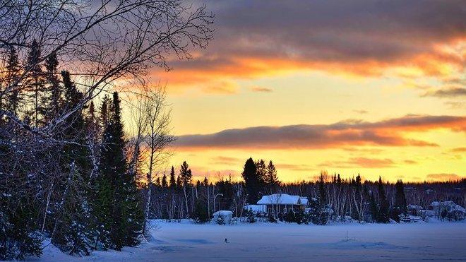 Předpověď počasí na noc a pátek 24. ledna. V noci může sněžit - anotační obrázek