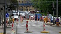 Rekonstrukce na Kolišti v Brně končí. Ode dneška je okruh plně průjezdný - anotační foto