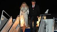 Andrej Babiš s manželkou Monikou při oficiální návštěvě USA