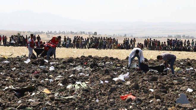 zřícení letadla Ethiopian Airlines (10.3.2019)