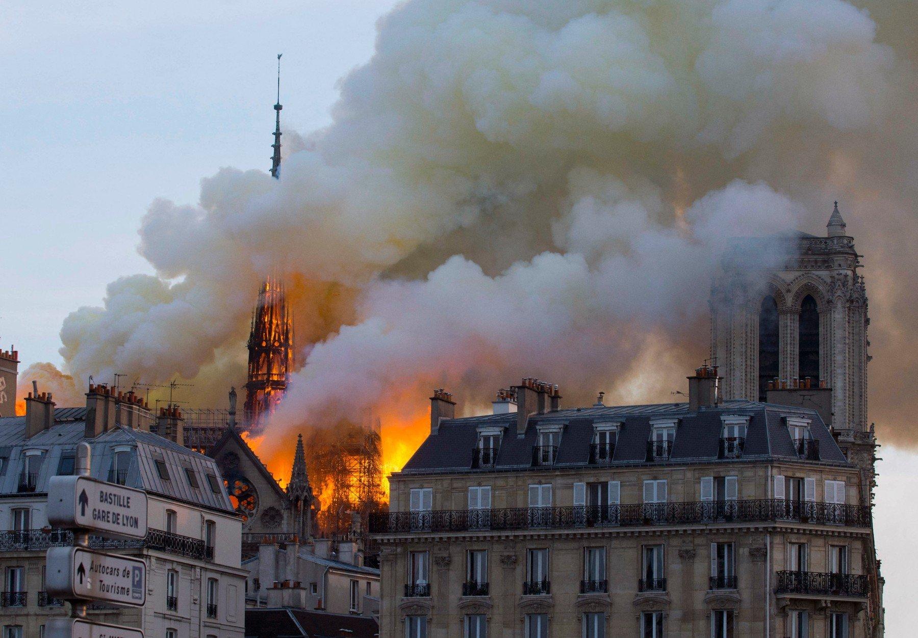 požár katedrály Notre-Dame (15. dubna 2019)