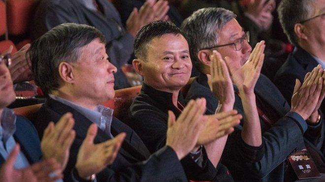 Čínský miliardář a spoluzakladatel internetové obchodní společnosti Alibaba Jack Ma