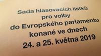 Voby do Evropského parlamentu 24.-25. května 2019