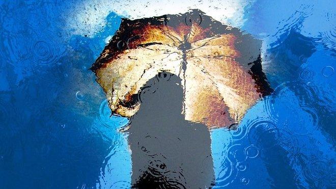 Déšť a ochlazení. Předpověď počasí na noc a úterý 28. května - anotační obrázek