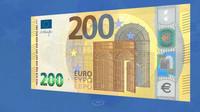 Do oběhu vstupují nové bankovky v hodnotě 100 a 200 eur