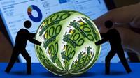 Inflace v eurozóně klesla na jedno procento. Výrazně se vzdálila cíli ECB - anotační obrázek