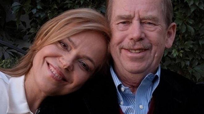 Dagmar Havlová a Václav Havel