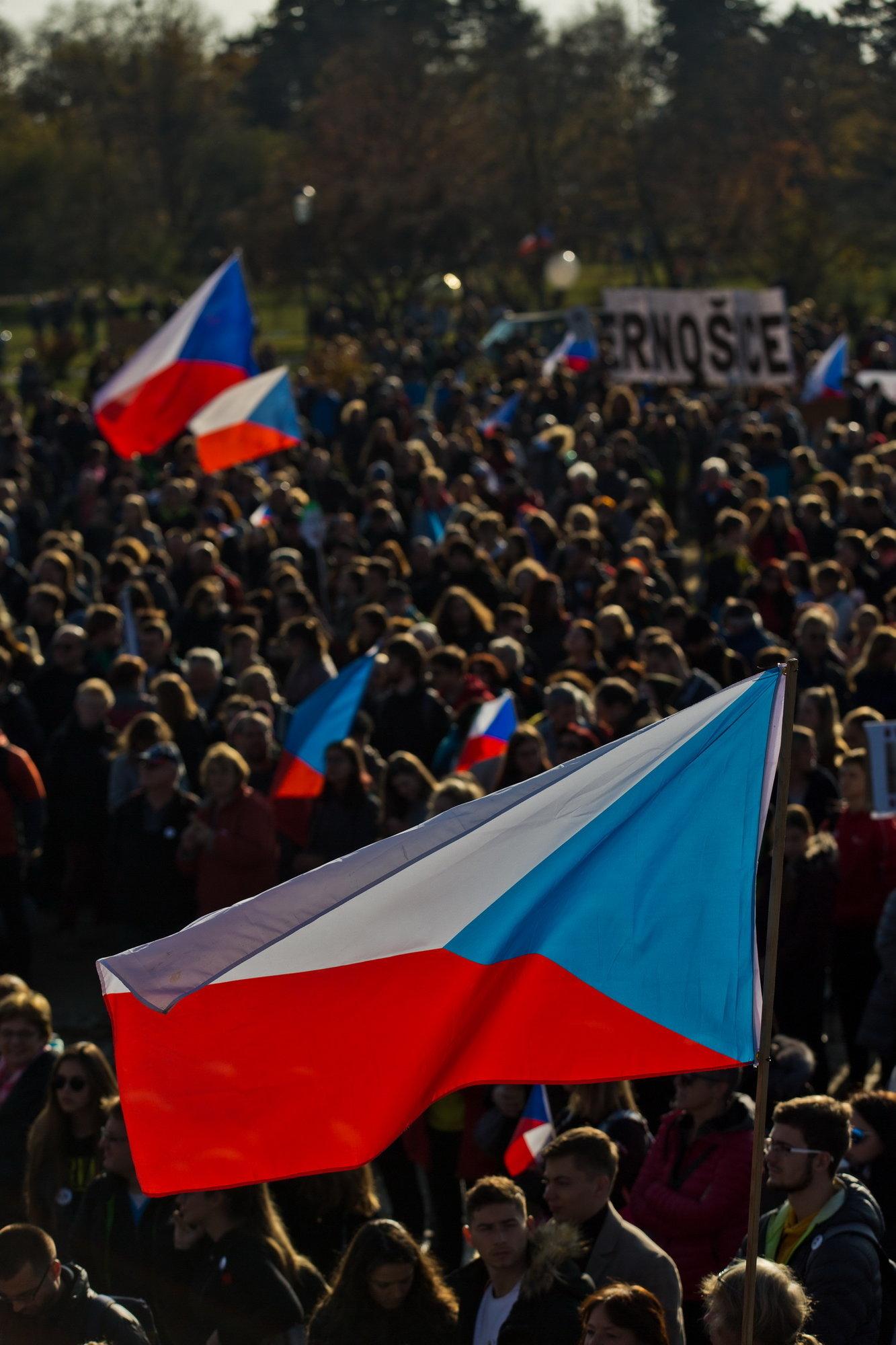 Demonstrace proti Babišovi 16. listopadu 2019