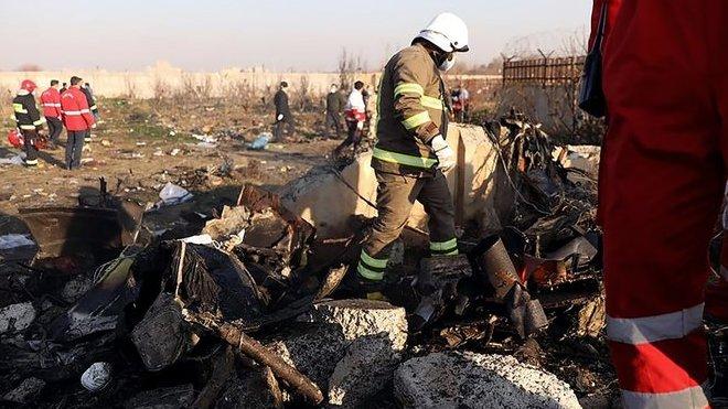 zřícení ukrajinského letadla v Teheránu (8. 1. 2020)
