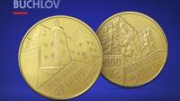 Hrad Buchlov uzavírá pětiletý cyklus zlatých mincí ČNB